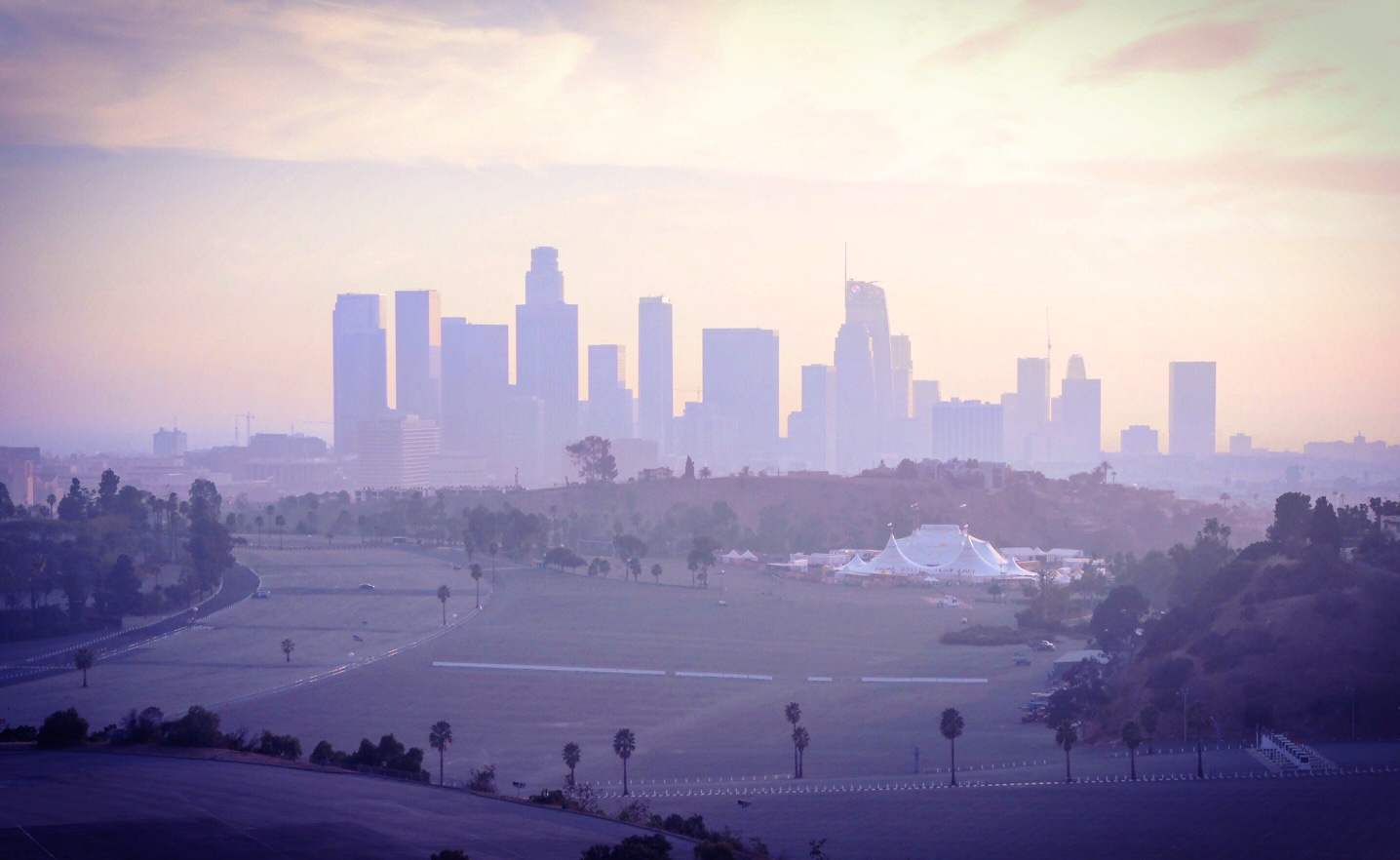The view of DTLA from the Angel's Point ❤️The Style Researcher Magazine