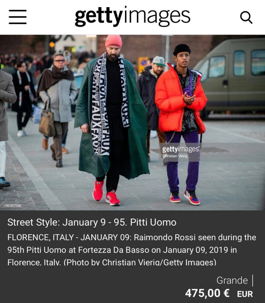 Getty Images - The Style Researcher - Ray Morrison (Raimondo Rossi)