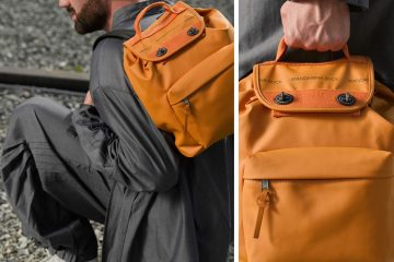 Mandarina Duck's backpack