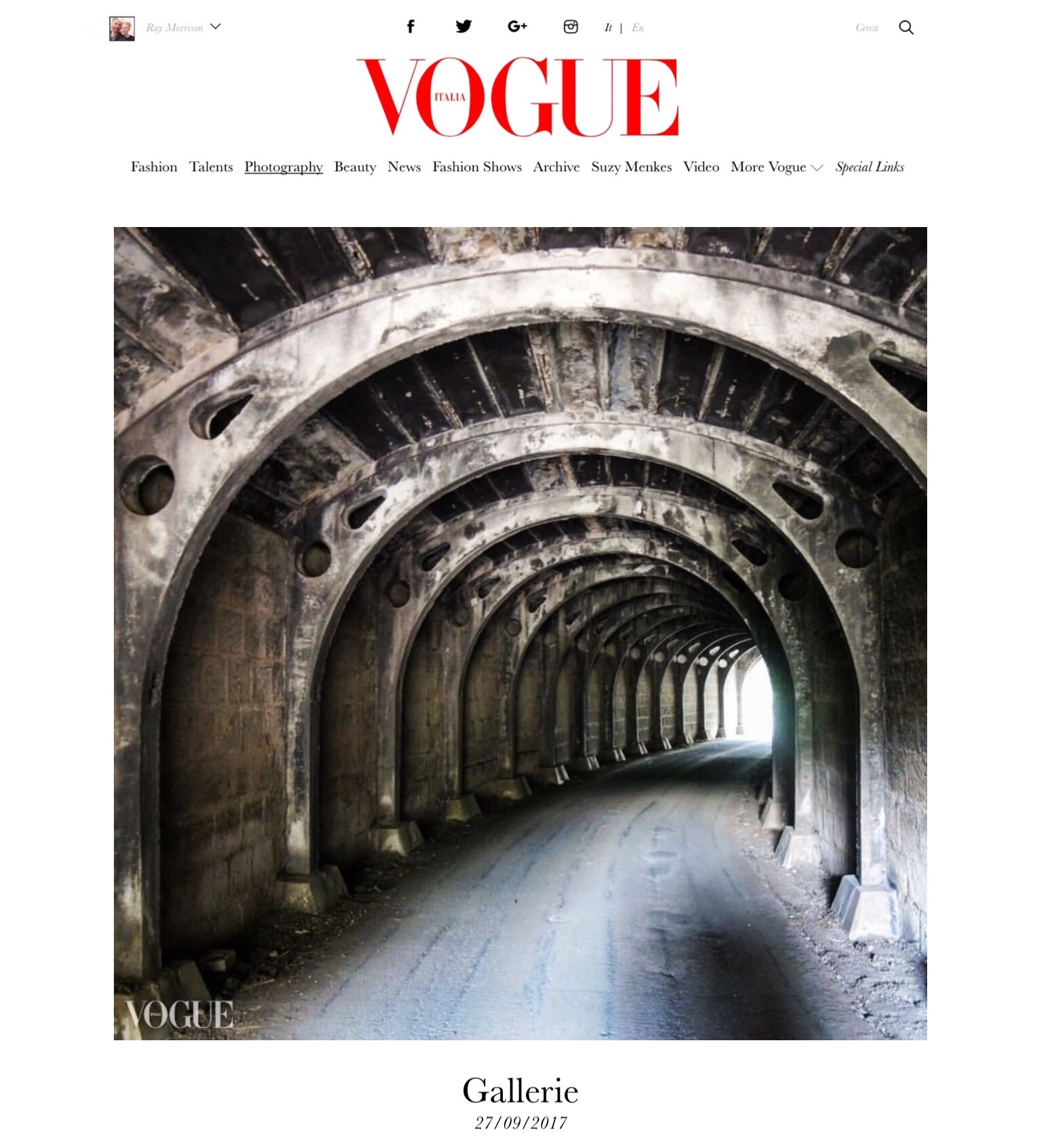 Tunnels in Photovogue