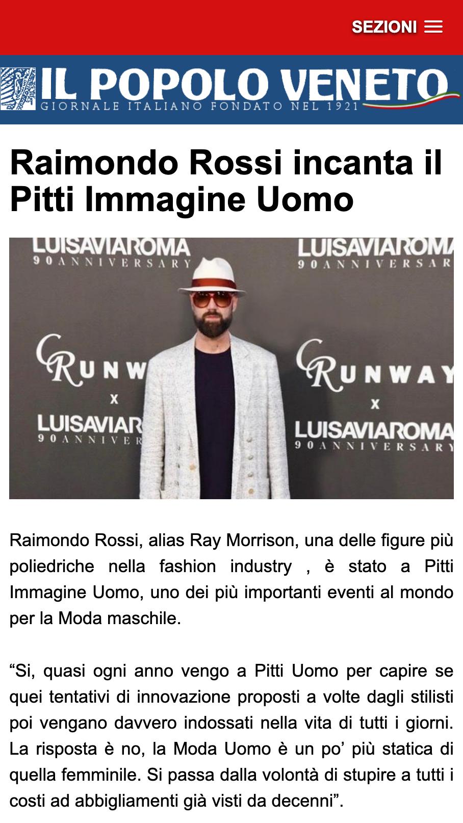 Il Popolo Veneto - Ray Morrison (Raimondo Rossi)