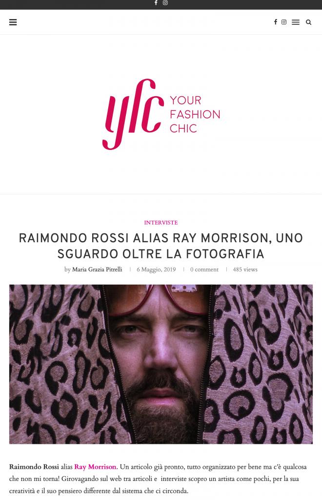 Your Fashion Chic - Ray Morrison (Raimondo Rossi)