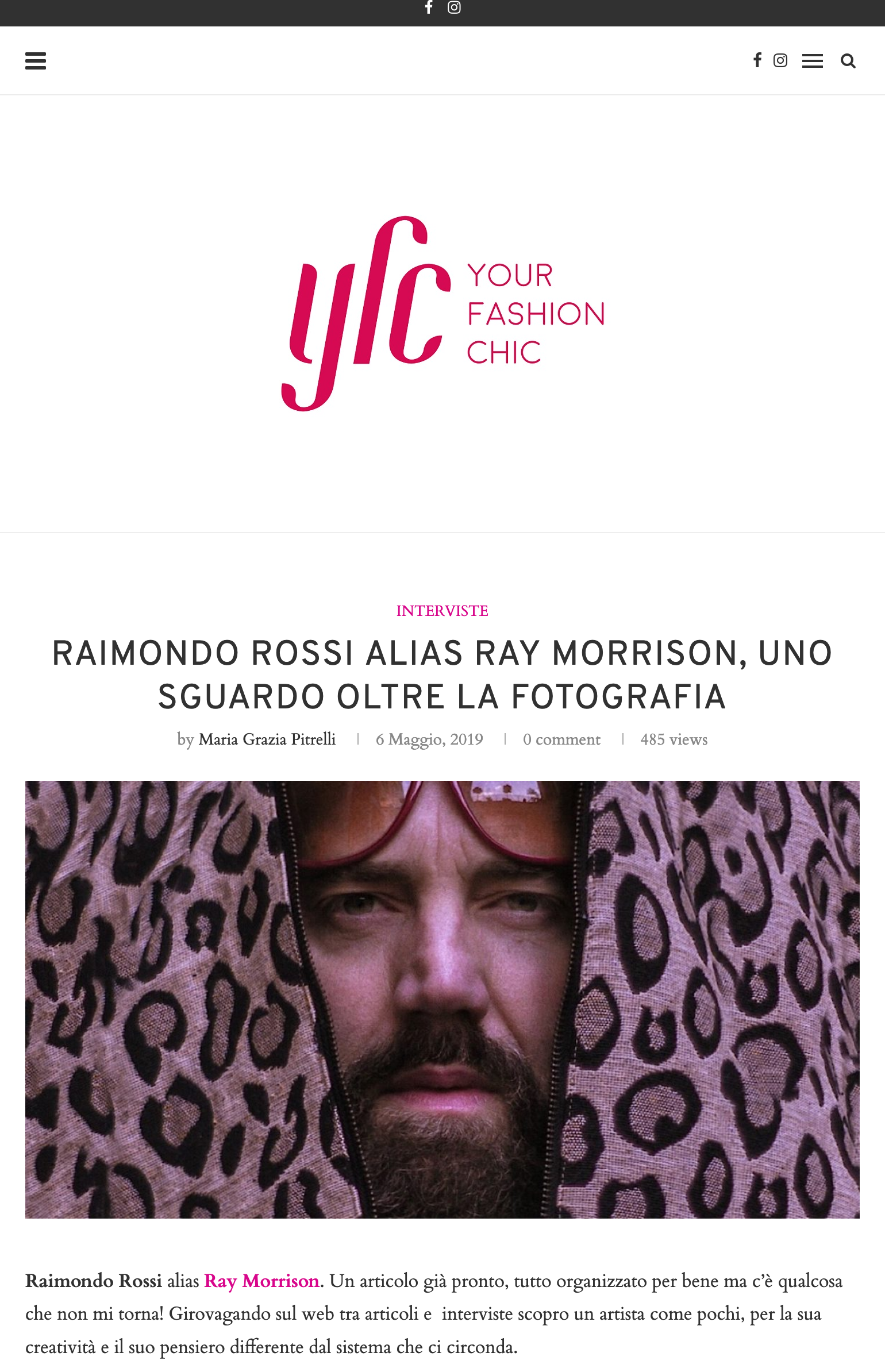 Your Fashion Chic - Ray Morrison (Raimondo Rossi)
