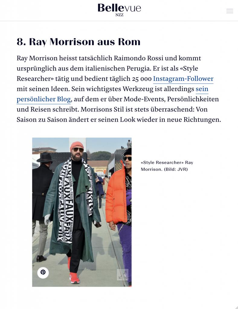 Ray Morrison (Raimondo Rossi)