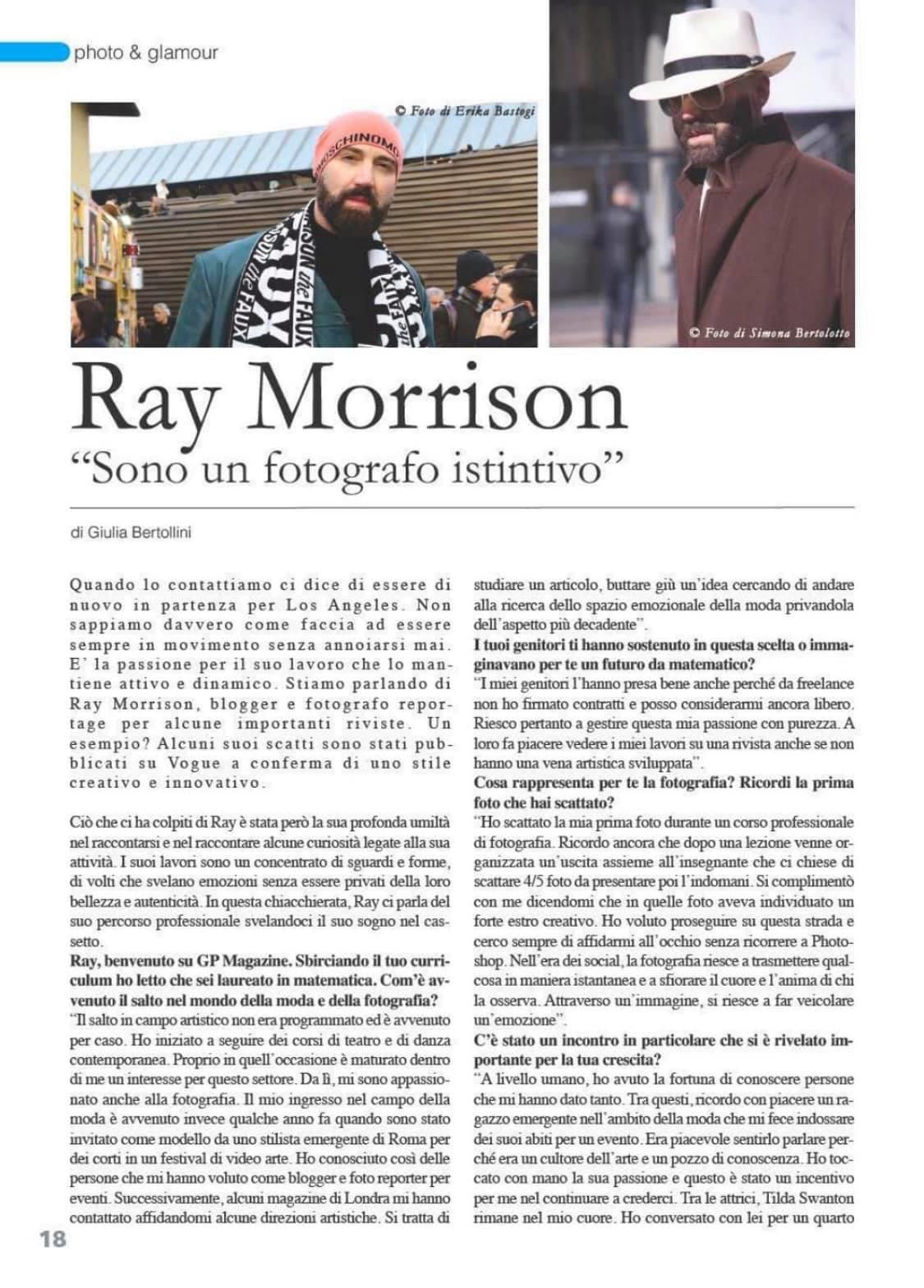 Raimondo Rossi Ray Morrison GP Magazine 1