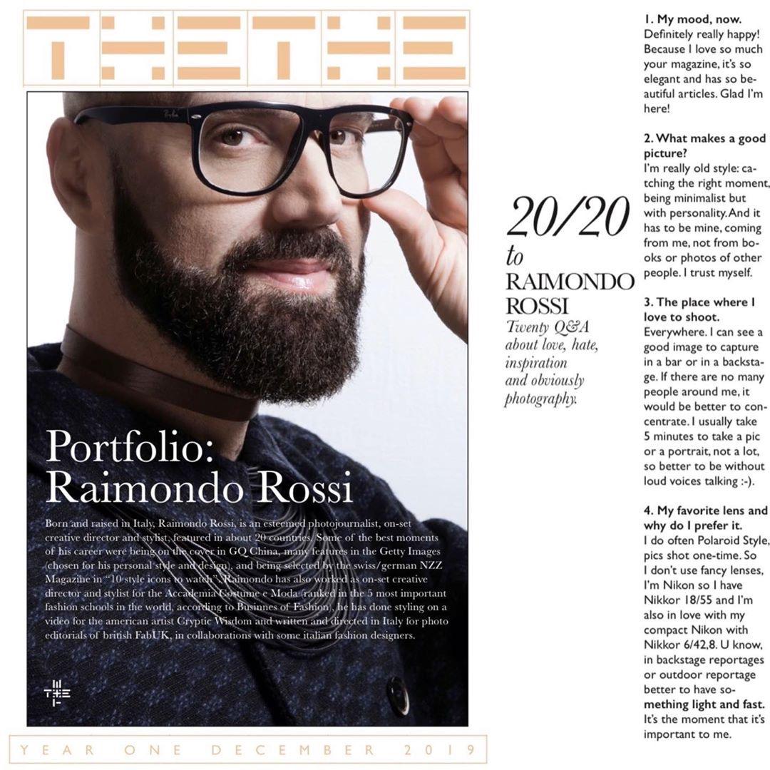 Raimondo Rossi Ray Morrison TheThe Magazine 1
