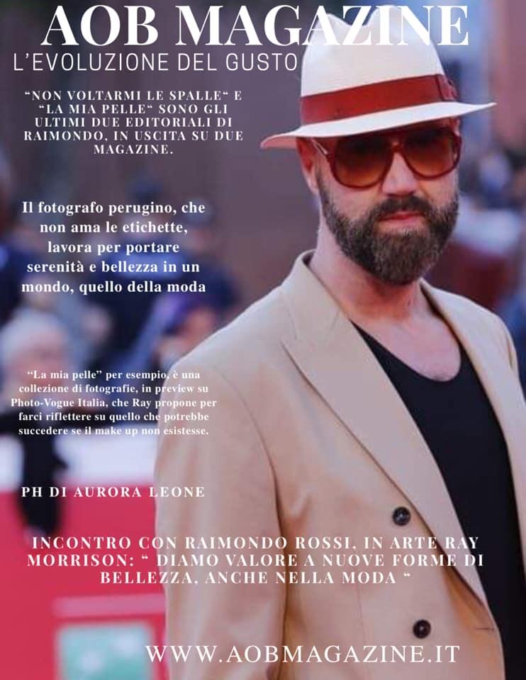 Raimondo Rossi Ray Morrison AOB Magazine