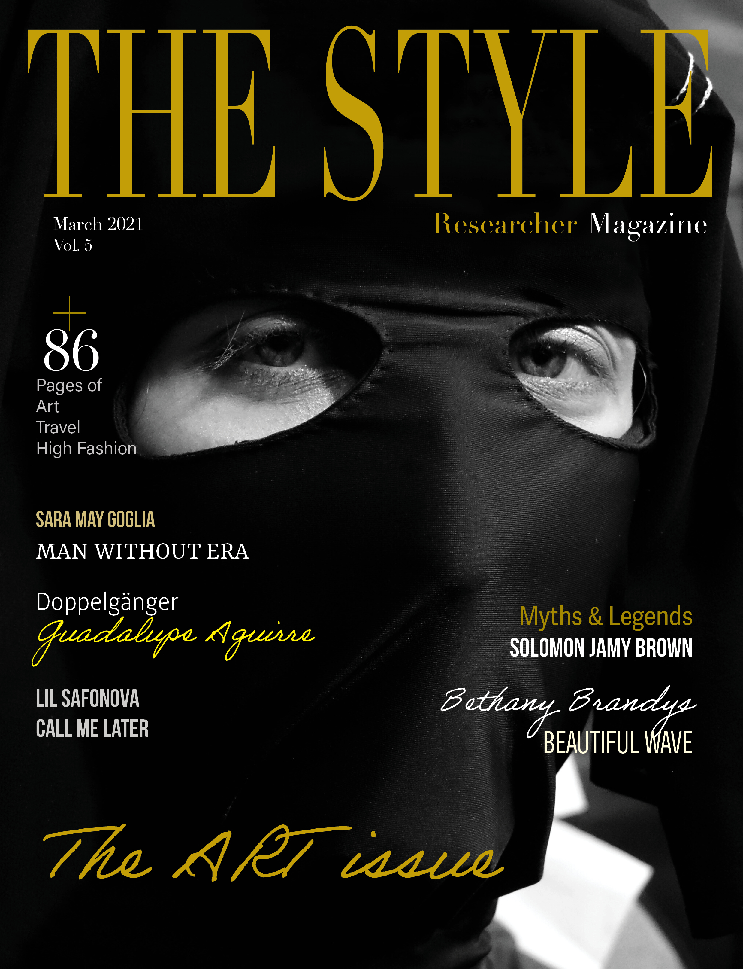 The Style Researcher Magazine Printed Edition Vol 5