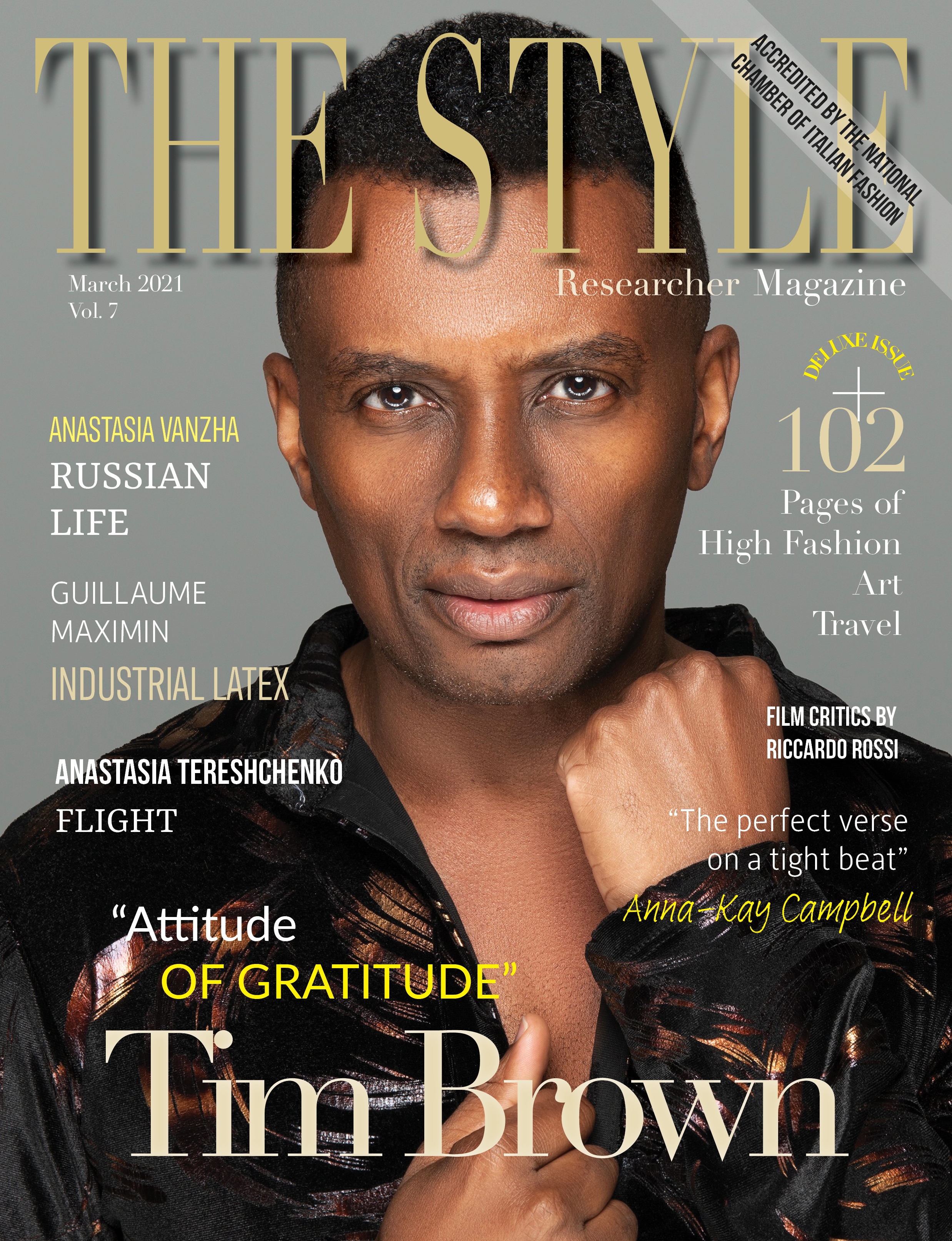 The Style Researcher Magazine Printed Edition Vol 7