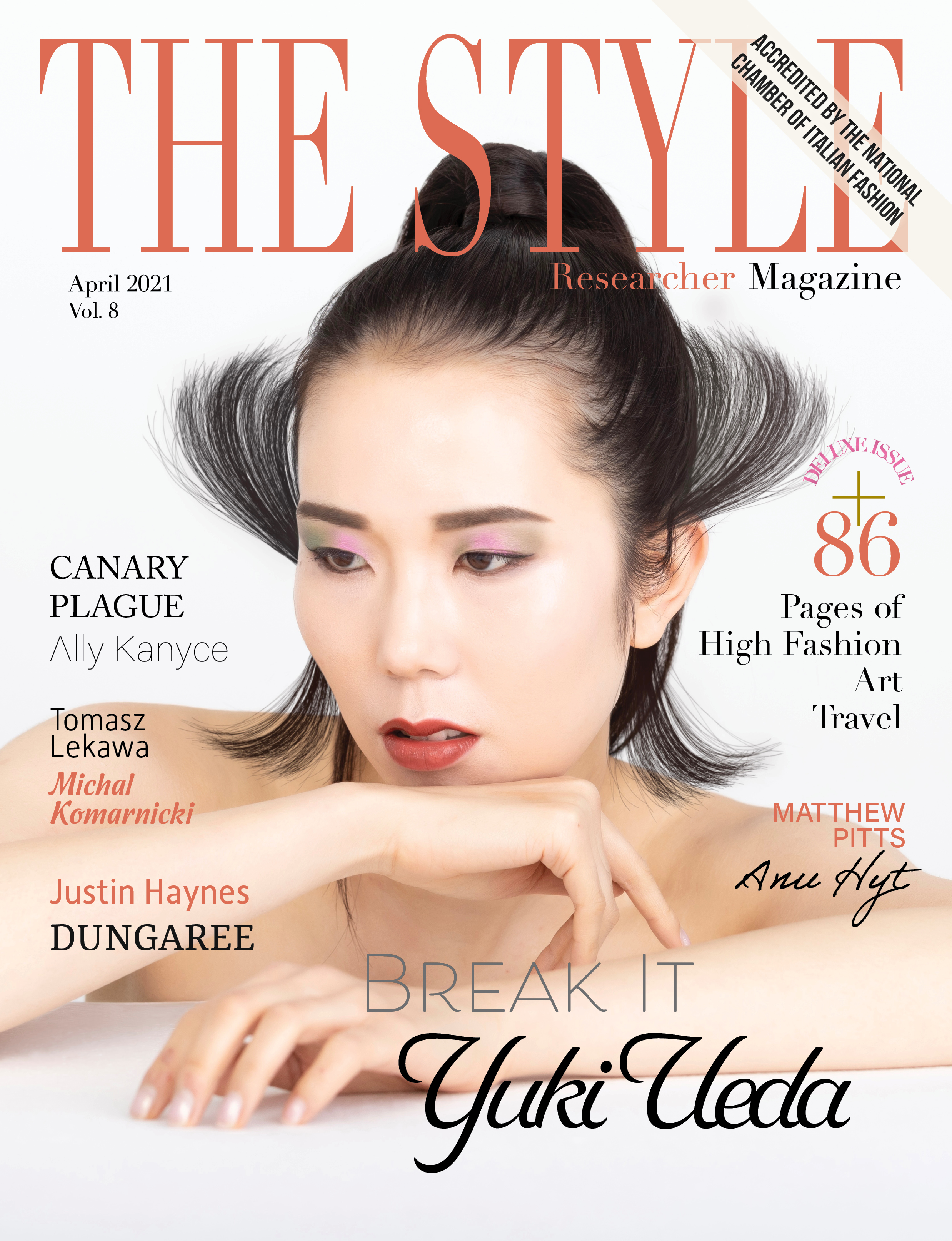 The Style Researcher Magazine Printed Edition Vol 8