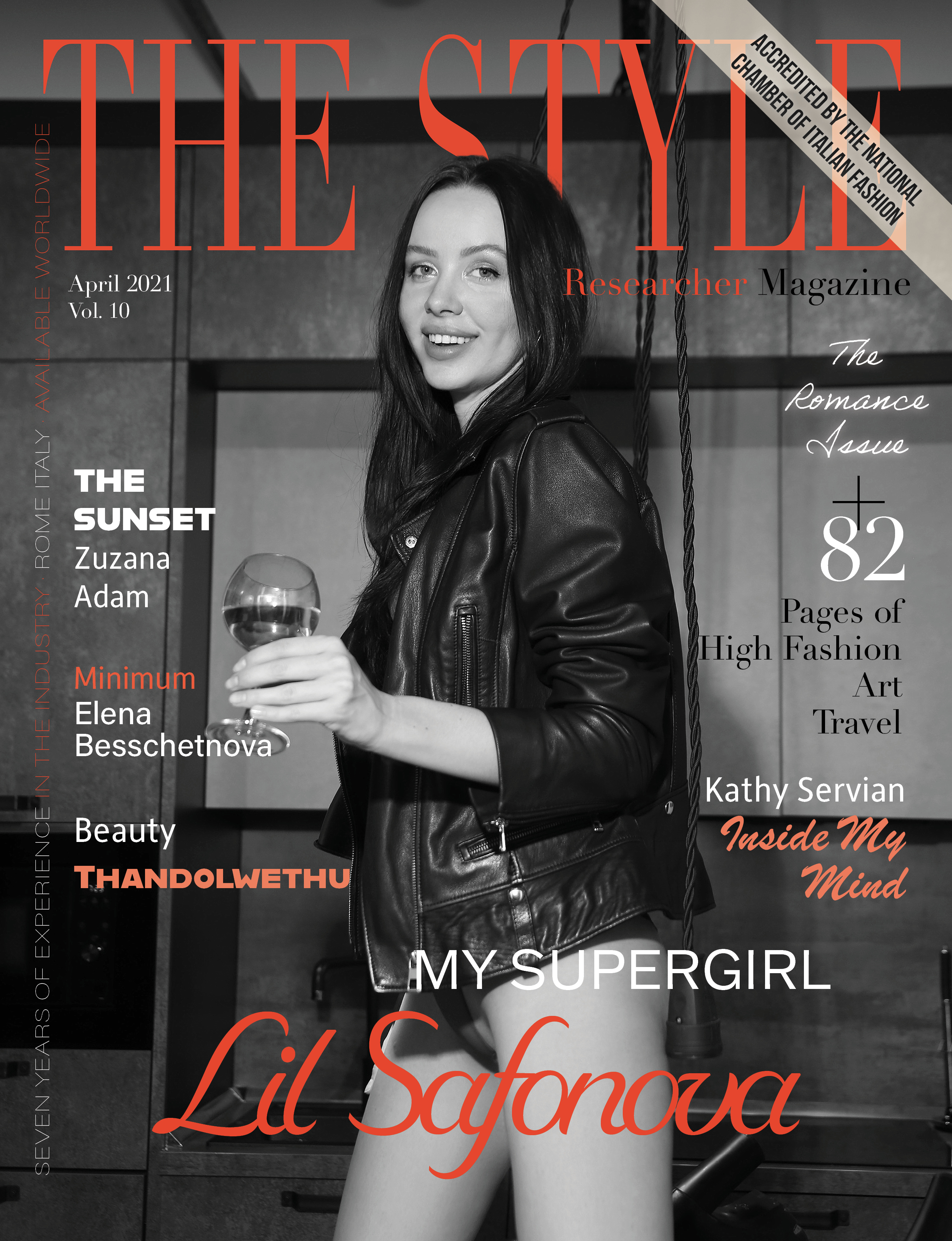 The Style Researcher Vol 10 Cover