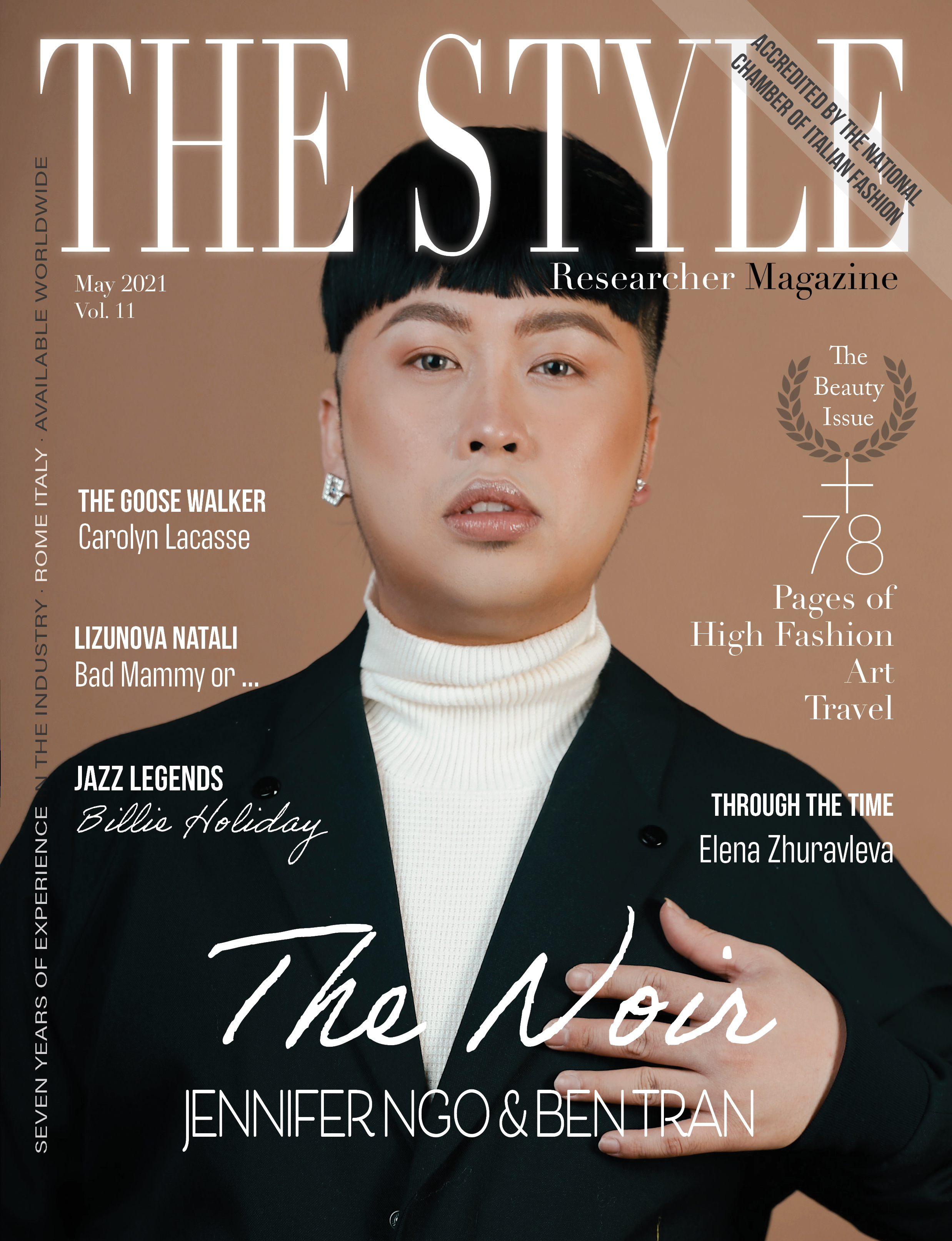 The Style Researcher Vol 11 Cover