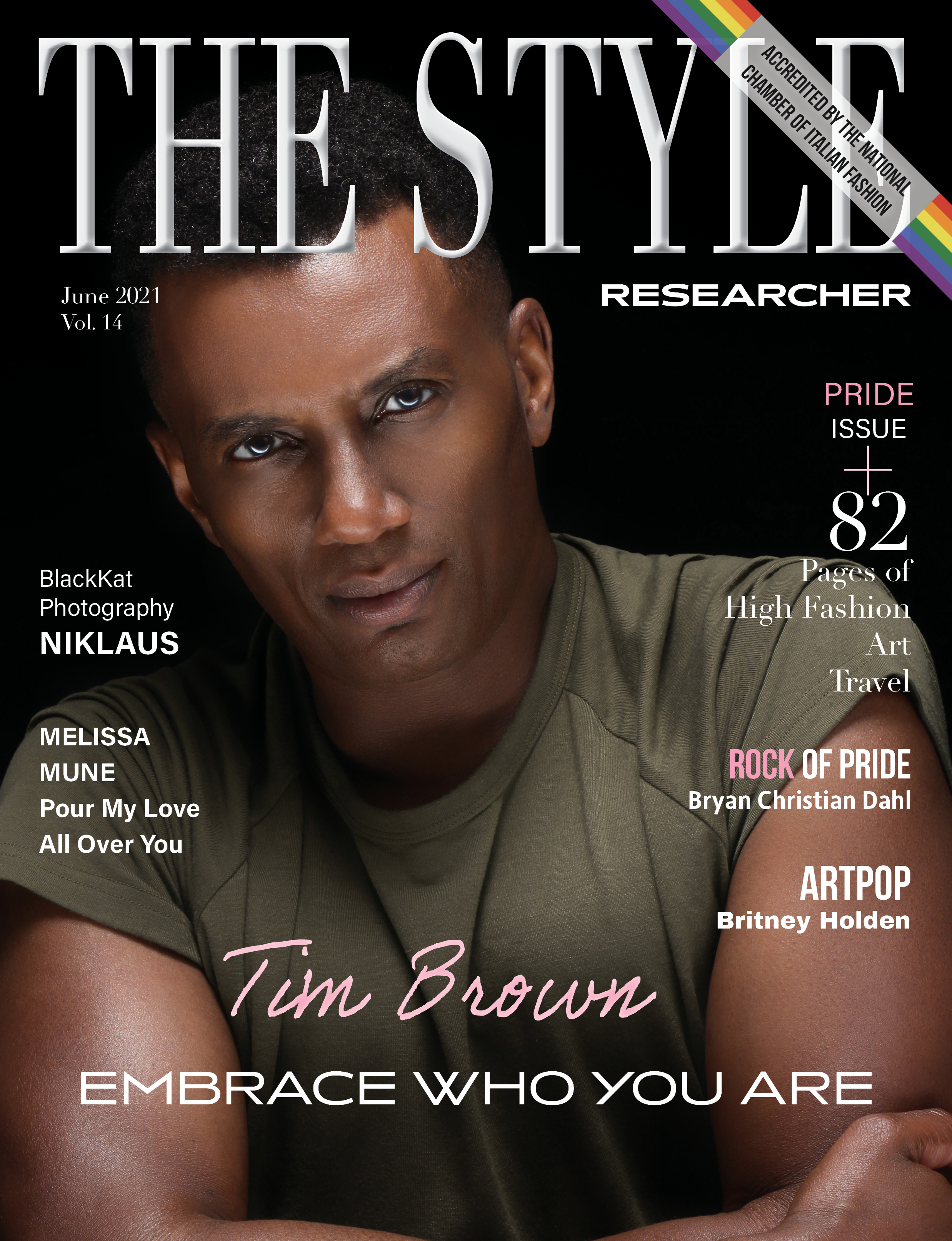 The Style Researcher Vol 14 Cover