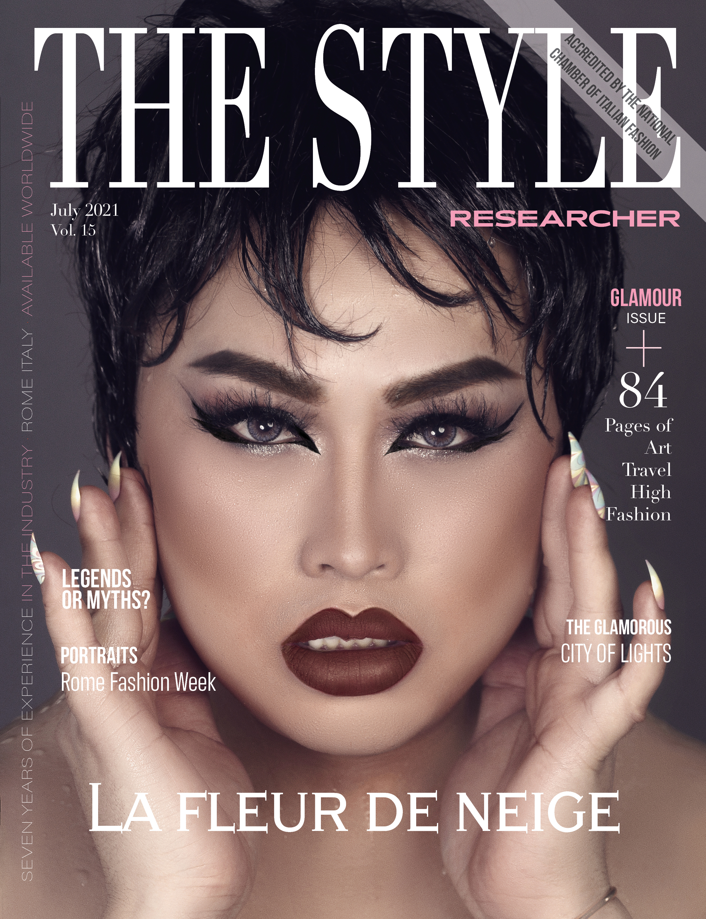 The Style Researcher Vol 15 Cover