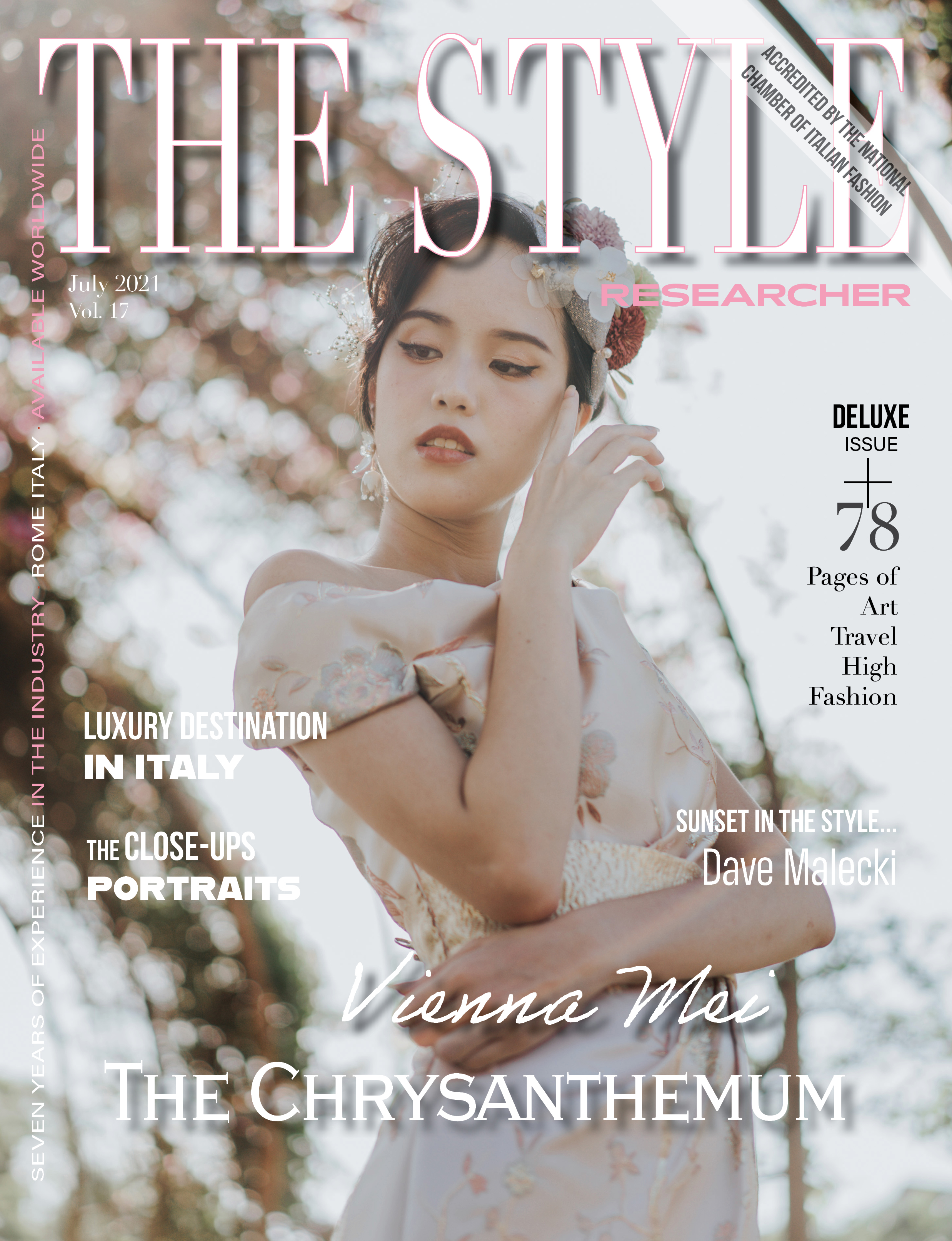 The Style Researcher Vol 17 Cover