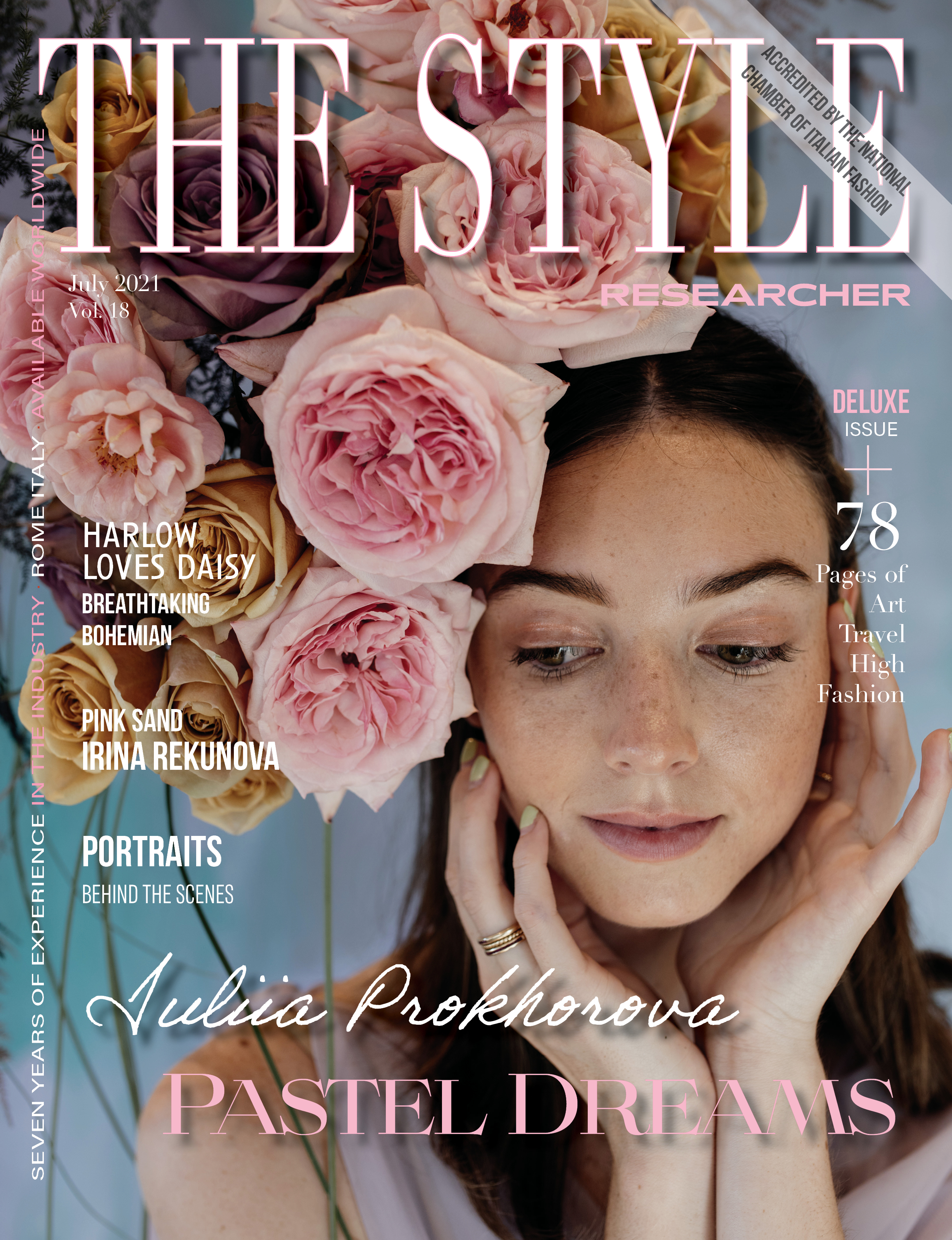 The Style Researcher Vol 18 Cover