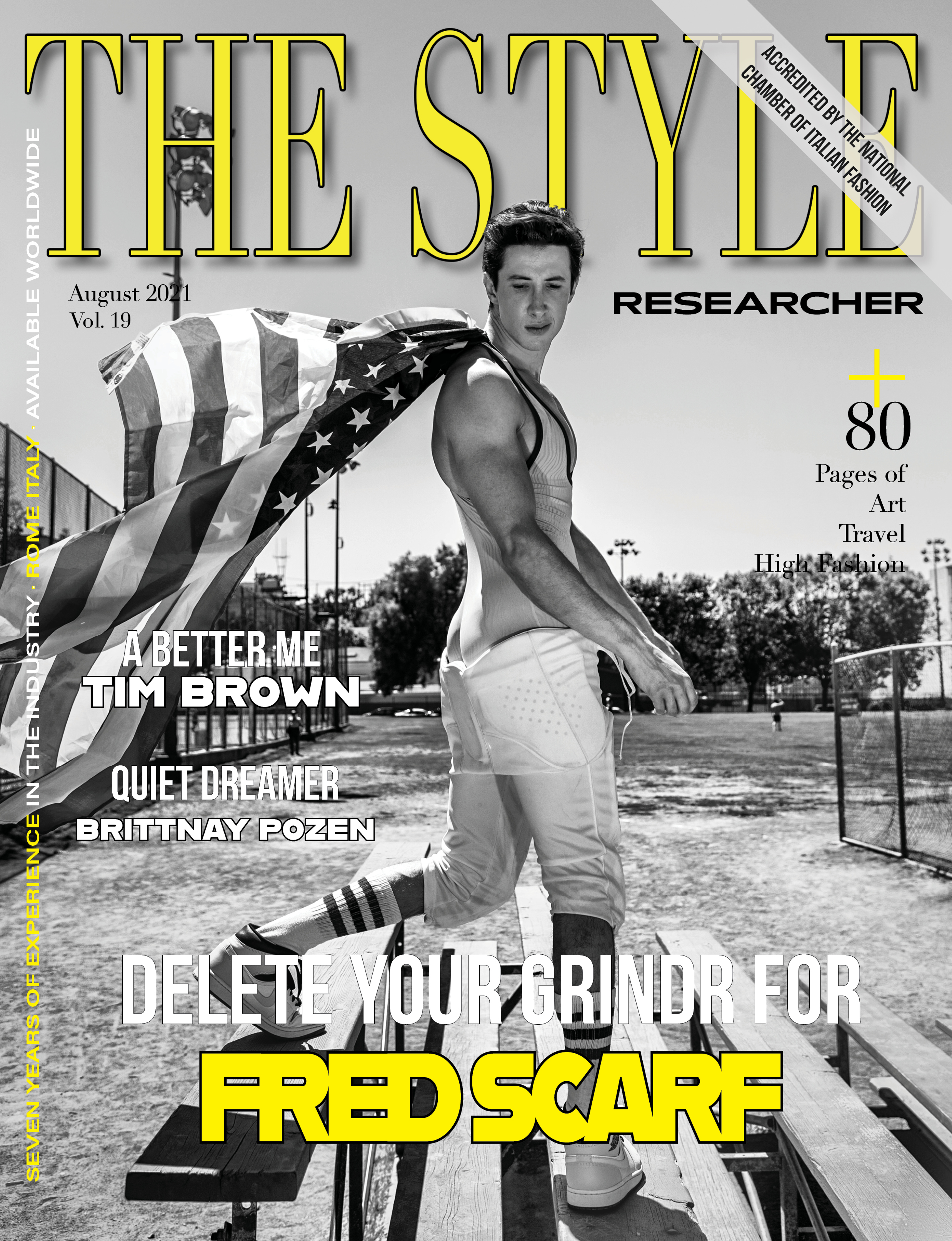 The Style Researcher Vol 19 Cover