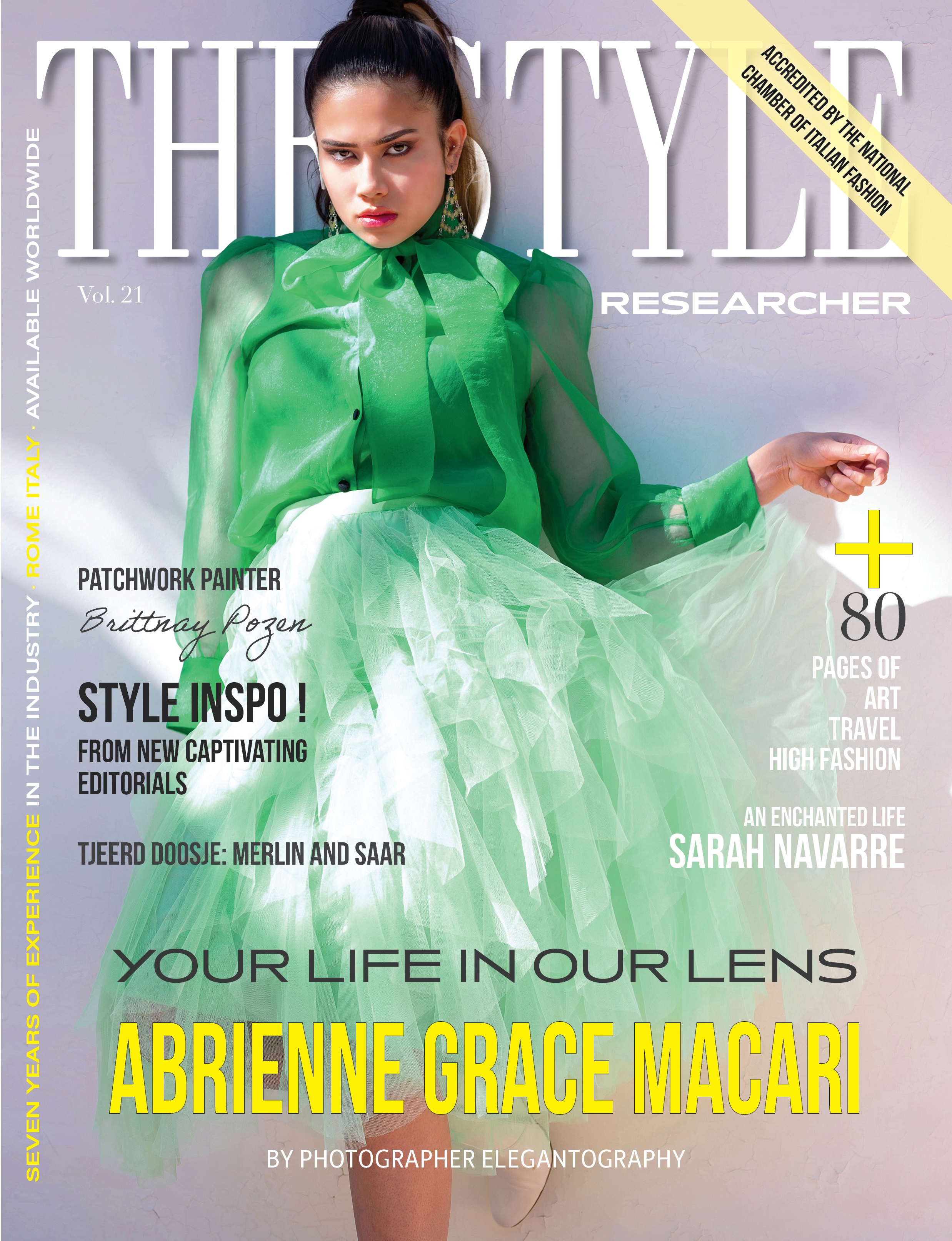 The Style Researcher Vol 21 Cover