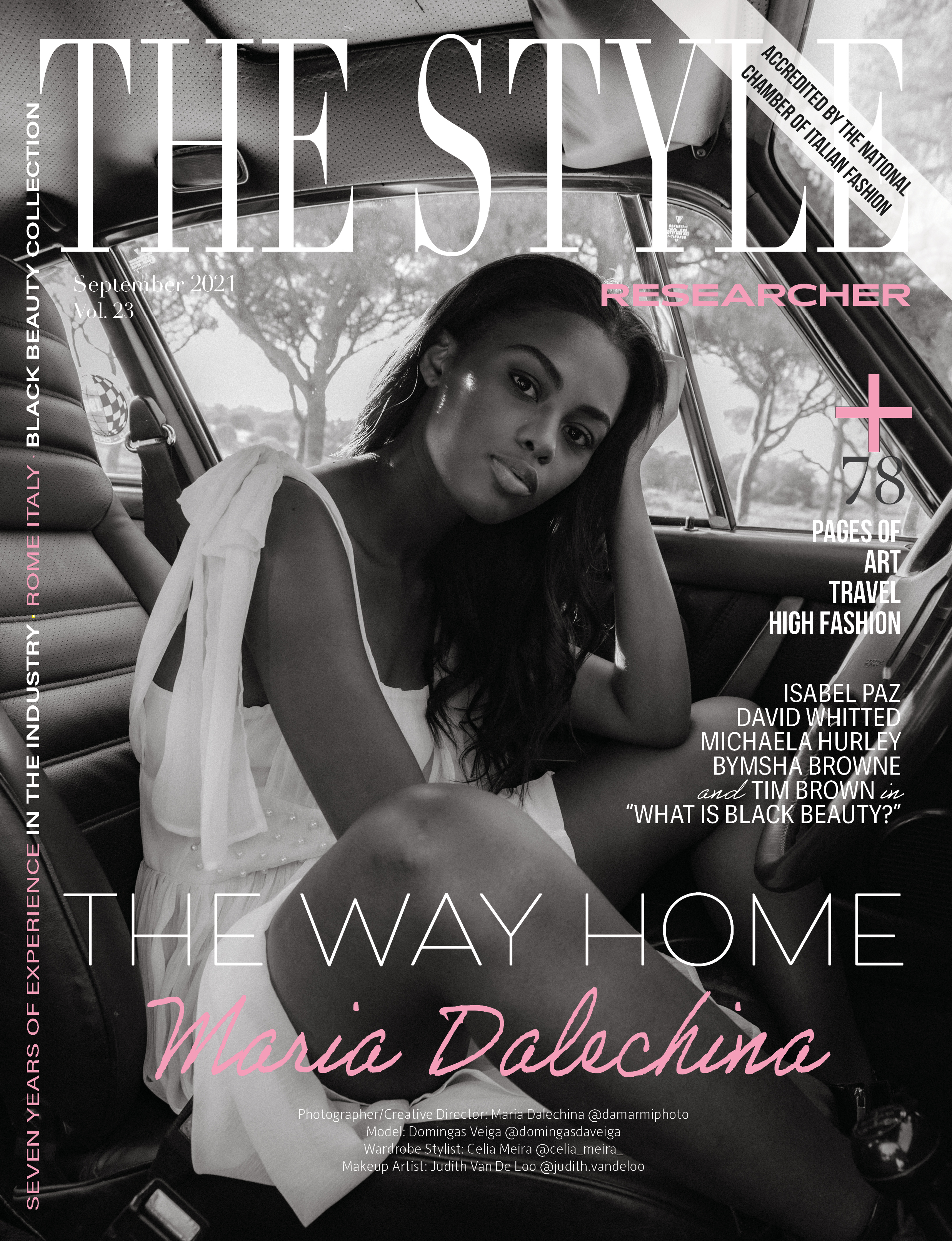 The Style Researcher Vol 23 Cover