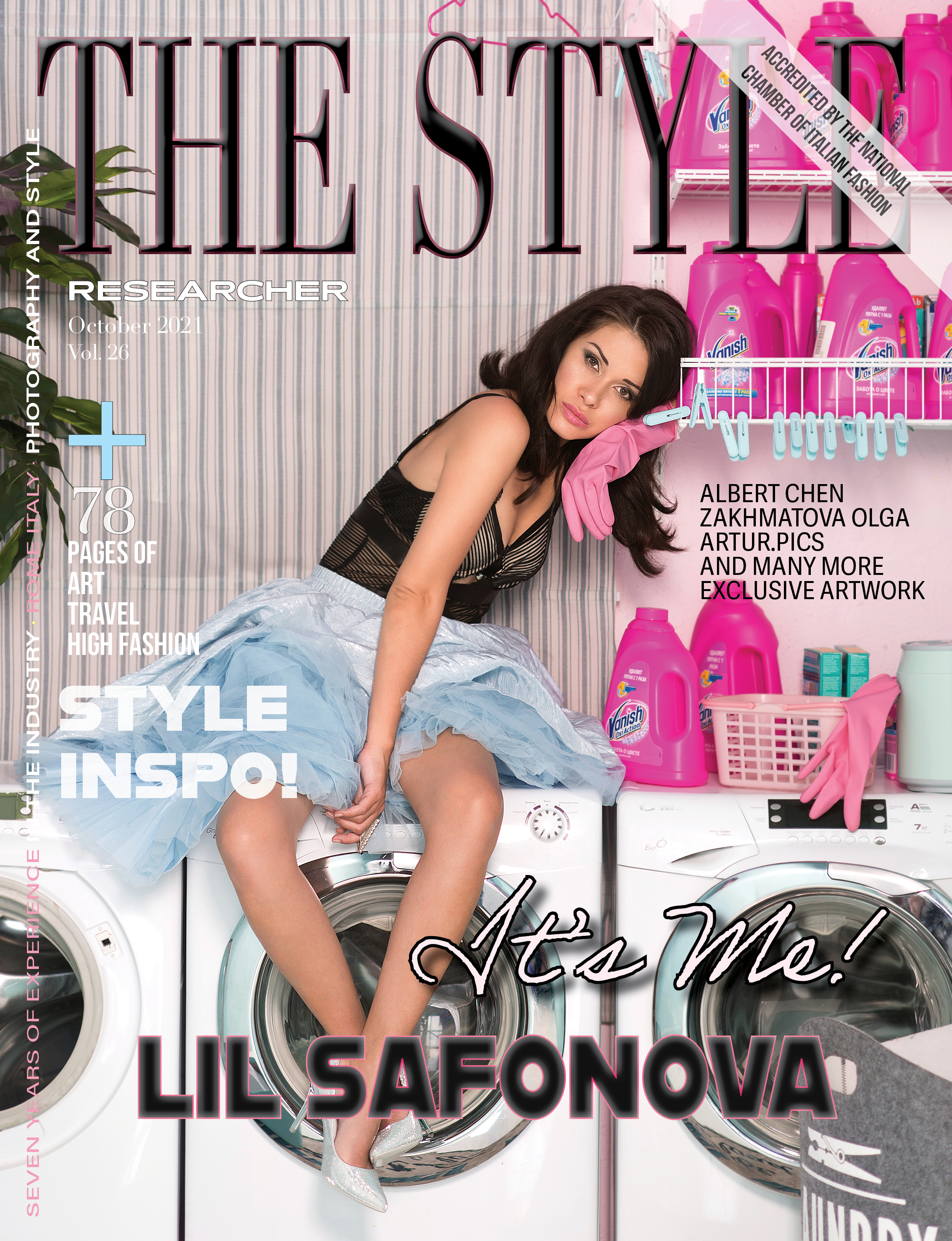The Style Researcher Vol 26 Cover